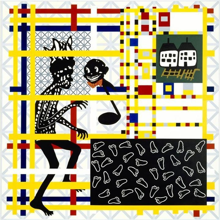 Home decor (Preston + De Stijl = Citizen) Dance the boogieman blues image