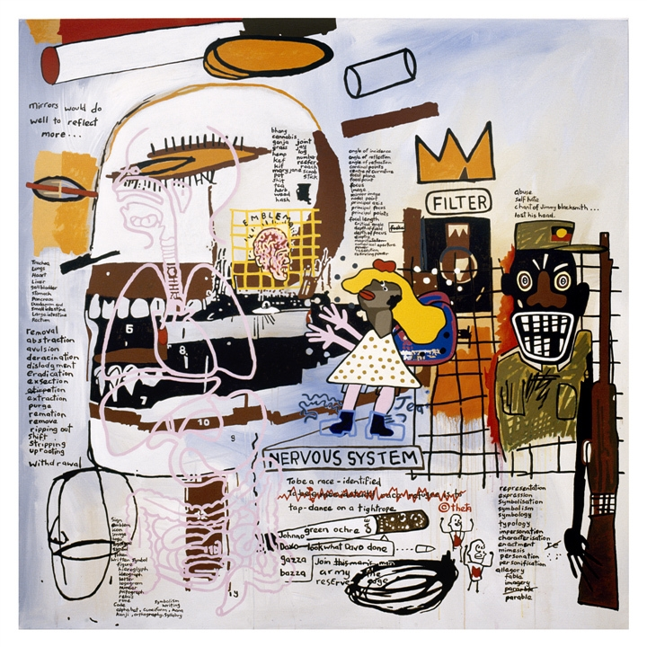Notes to Basquiat: Green Ochre image