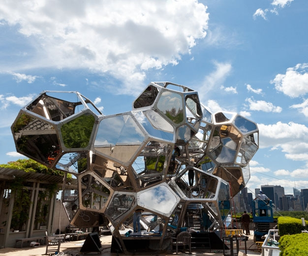 Tomás Saraceno on the Roof: Cloud City image