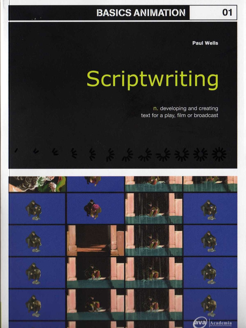 Scriptwriting - Bookcover image