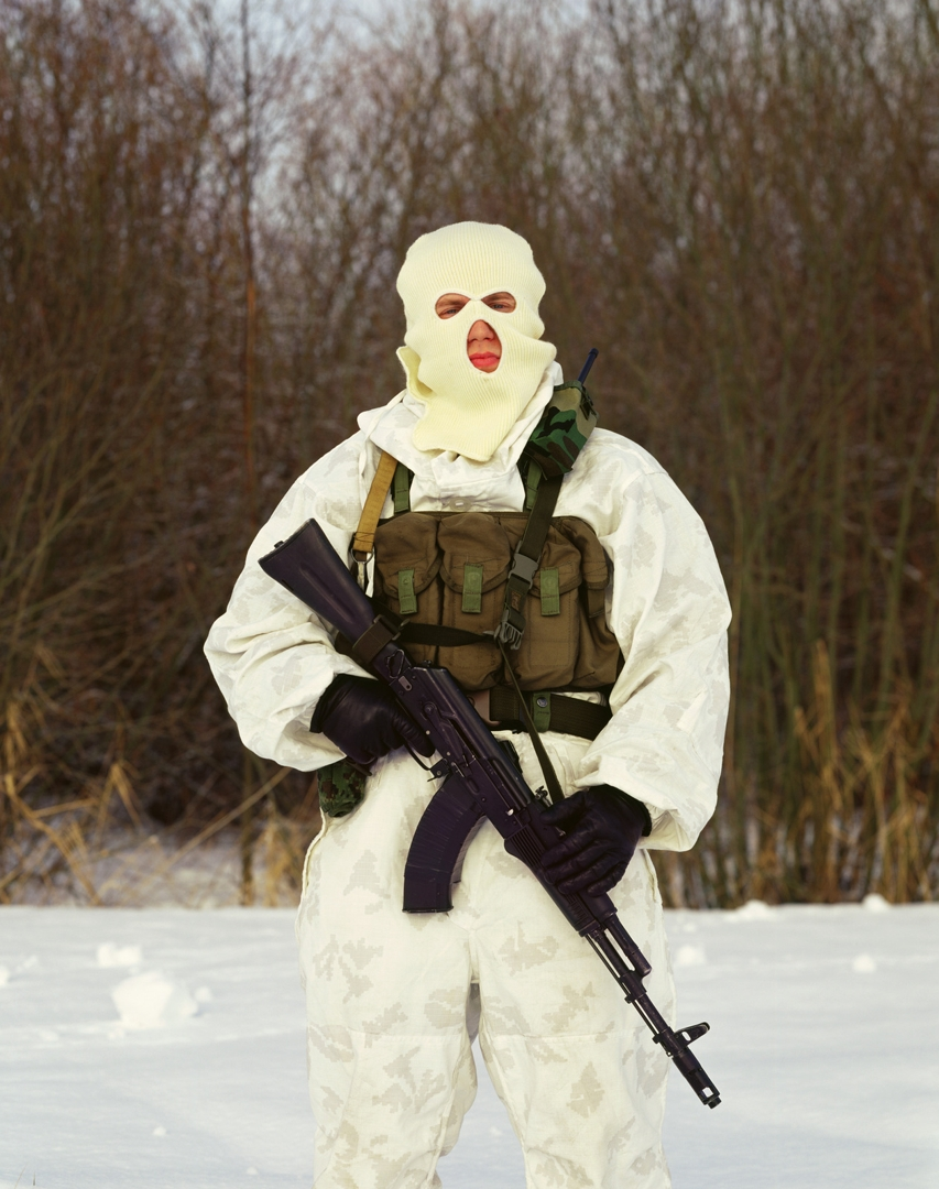 Man in Mask, combatant of the Alpha group  image