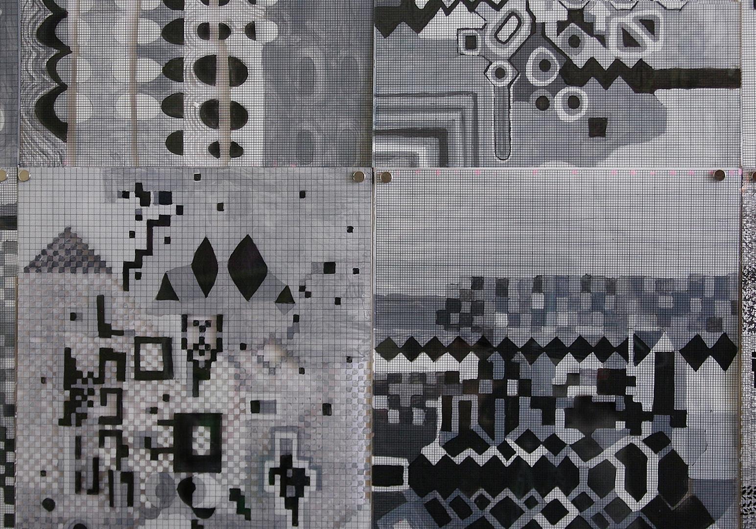 Tina Douglas. X,Y, Z Mundi (installation detail)  image