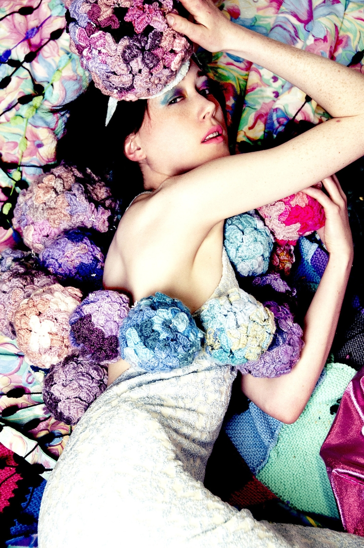 Hydrangea dress image