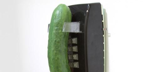 Cucumber (phone) (detail) image