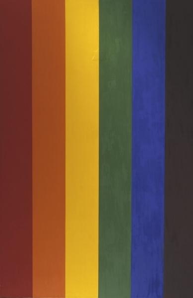 Double Portrait (Gay Flag) image