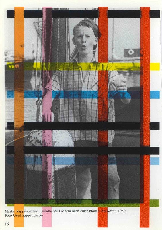 Untitled (Martin Kippenberger, ,,Kindliches Lächeln nach einer blöden Antwort,