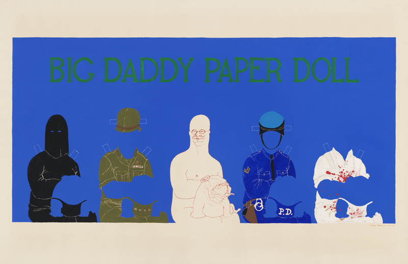 Big Daddy Paper Doll image