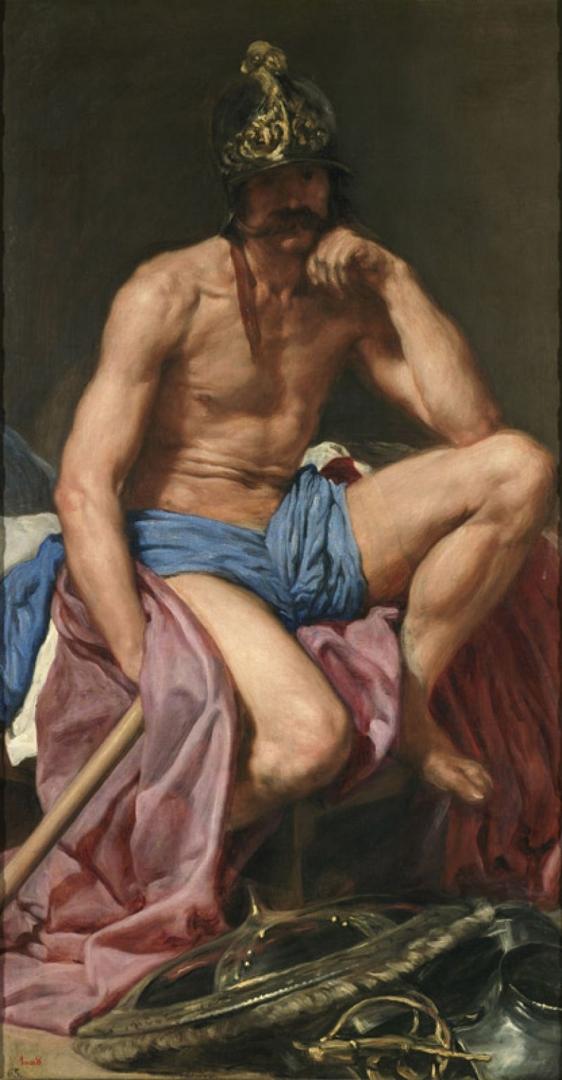 Mars (El dios Marte), c.1638 image