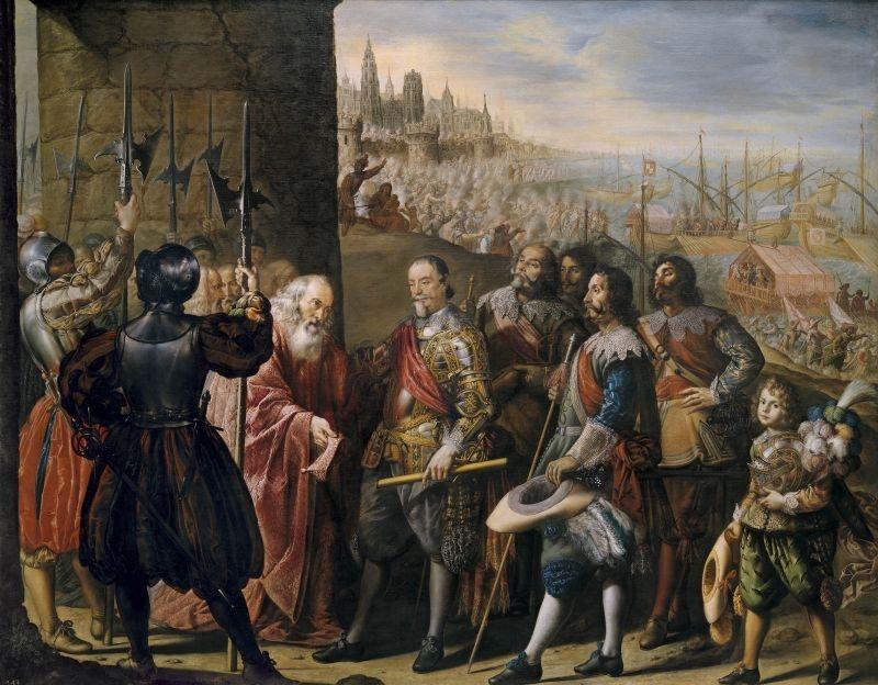 The relief of Genoa by the second Marquis of Santa Cruz (El socorro de Génova por el Segundo marqués de Santa Cruz), 1634–35 image