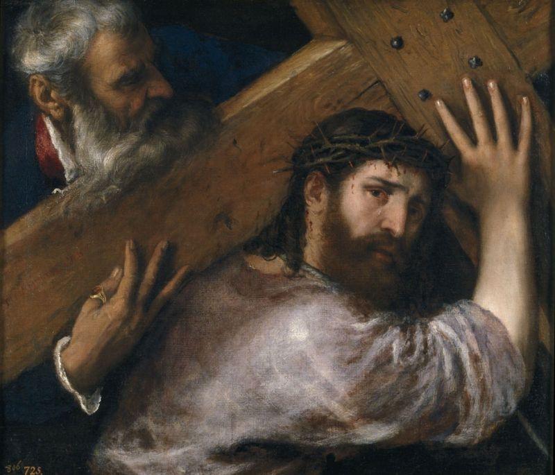 Christ carrying the Cross (Cristo con la Cruz a cuestas), c.1565 image