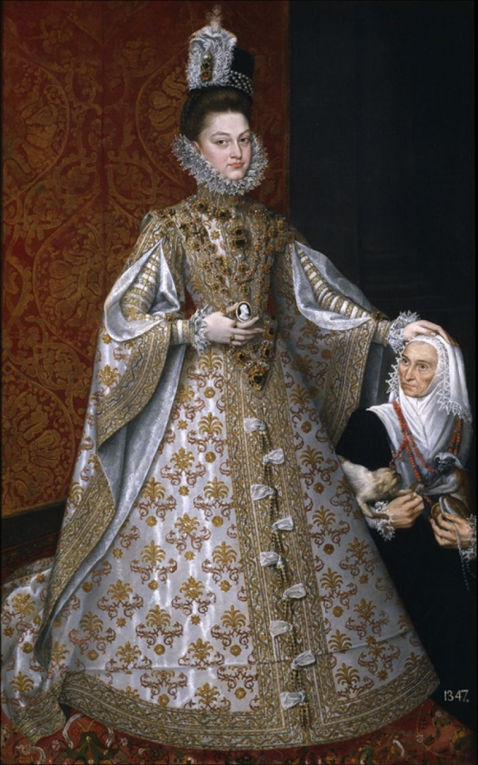 The infanta Isabella Clara Eugenia and Magdalena Ruiz (La infanta Isabel Clara Eugenia y Magdalena Ruiz), c.1585-88 image