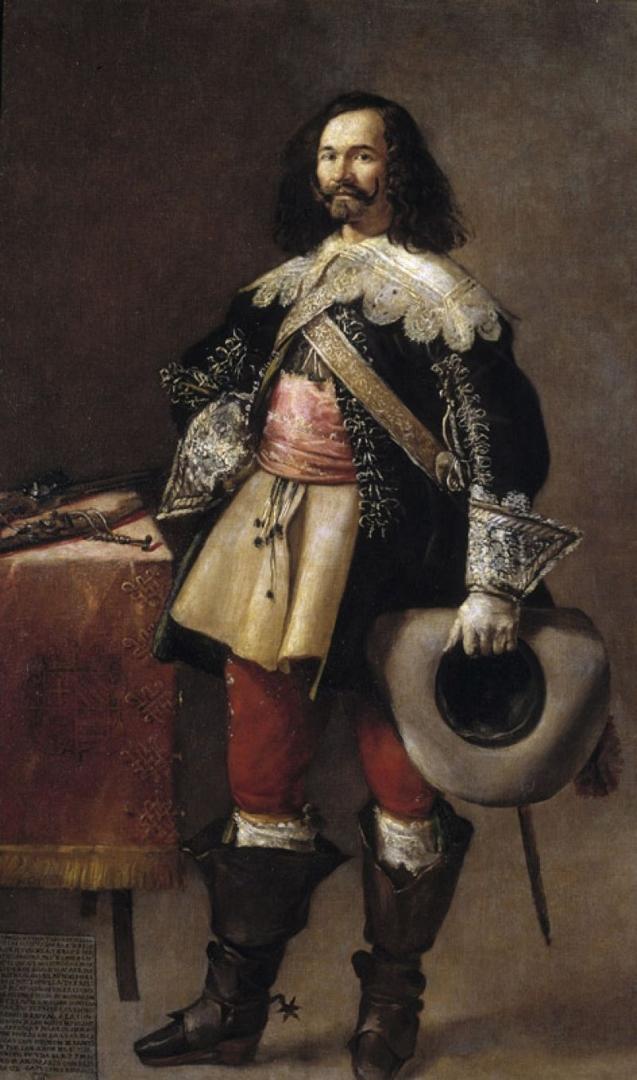 Don Tiburcio de Redín y Cruzat, 1635 image