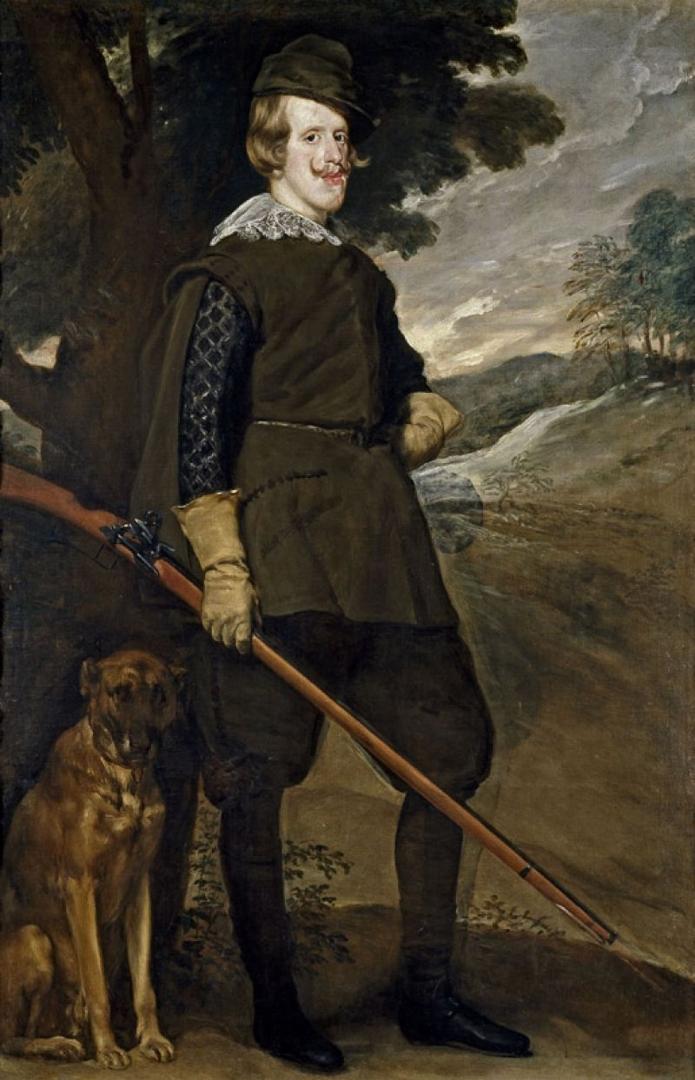 Philip IV as hunter (Felipe IV en traje de cazador), c.1633 image