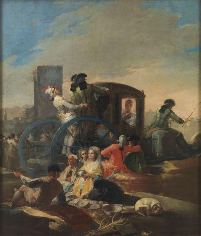 The pottery vendor (El cacharrero), 1778 image