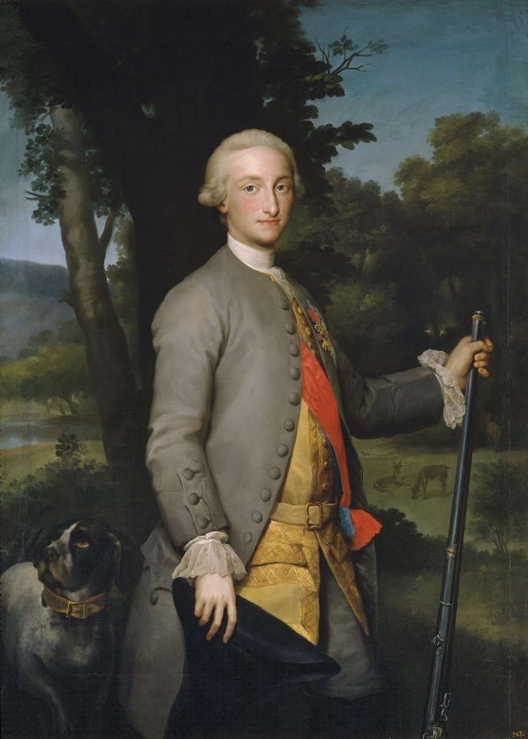 Charles IV, Prince of Asturias (Carlos IV, príncipe de Asturias), c.1765 image