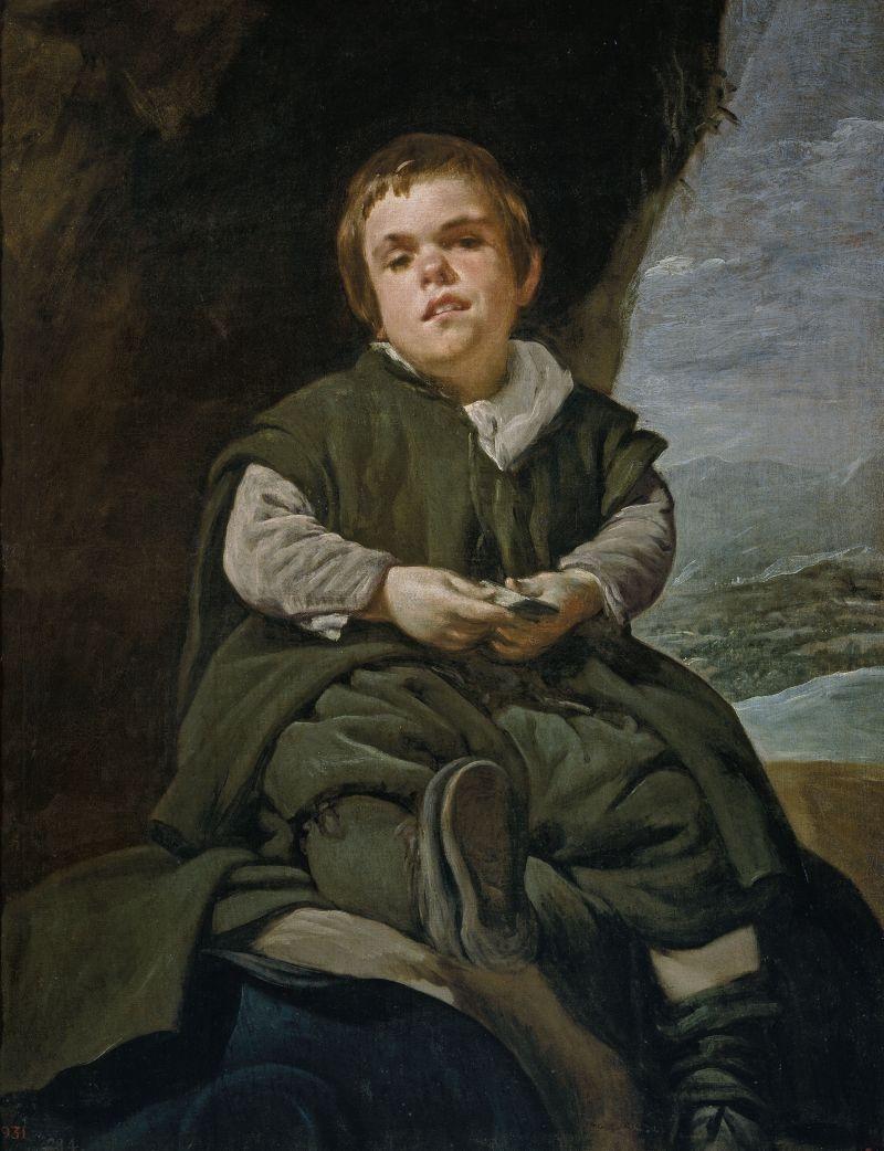 Francisco Lezcano, known as 'El Niño de Vallecas' ('The Boy from Vallecas'), c.1636–38 | 1599, Seville – 1660, Madrid image