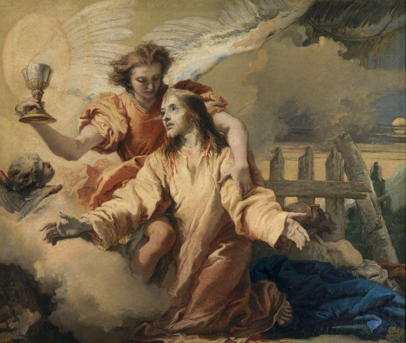 The Agony in the Garden (La Oración en el Huerto), 1772 image