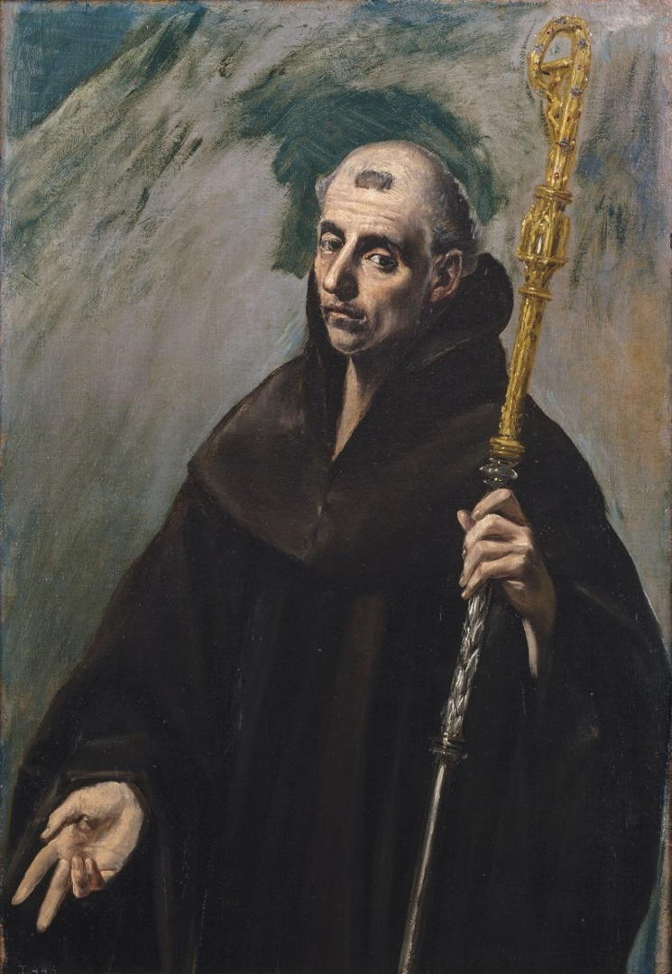 Saint Benedict (San Benito), 1577–79 image