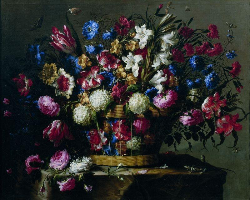 Basket of flowers (Cesta de flores), c.1668–70 image