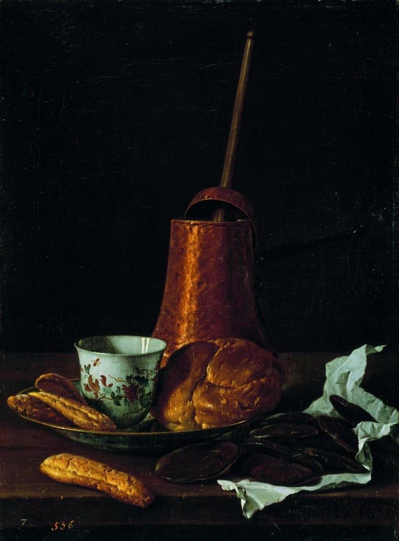 Still life with chocolate service (Bodegón: servicio de chocolate), 1770 image