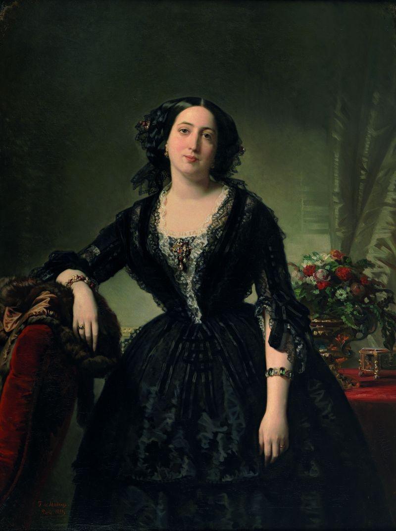 María Dolores de Aldama, Marchioness of Montelo, 1855 image
