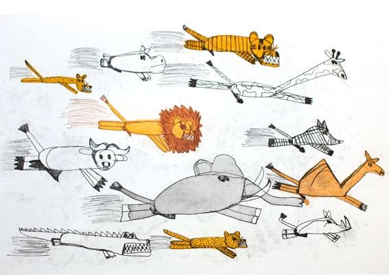 Animals From Overseas – Running image