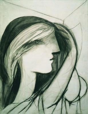 Head of a Woman, Right Profile (Marie-Thérèse) (Tête de femme, profil droit [Marie-Thérèse]) image