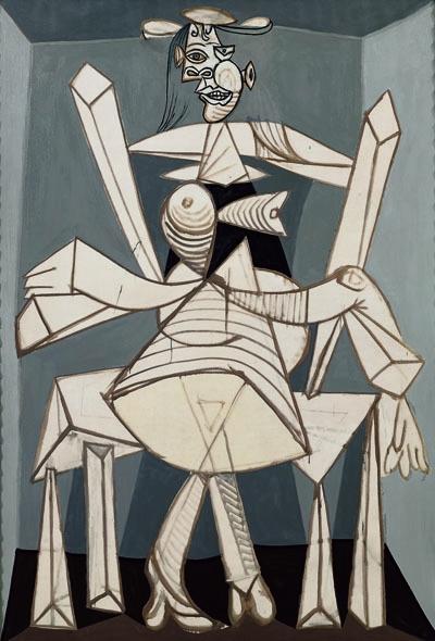 Seated Woman in an Armchair (Dora) (Femme assise dans un fauteuil [Dora]), 1938 image