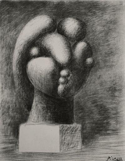 Study for Sculpture of a Head (Marie-Thérèse) (Étude pour sculpture d'une tête [Marie-Thérèse]) image