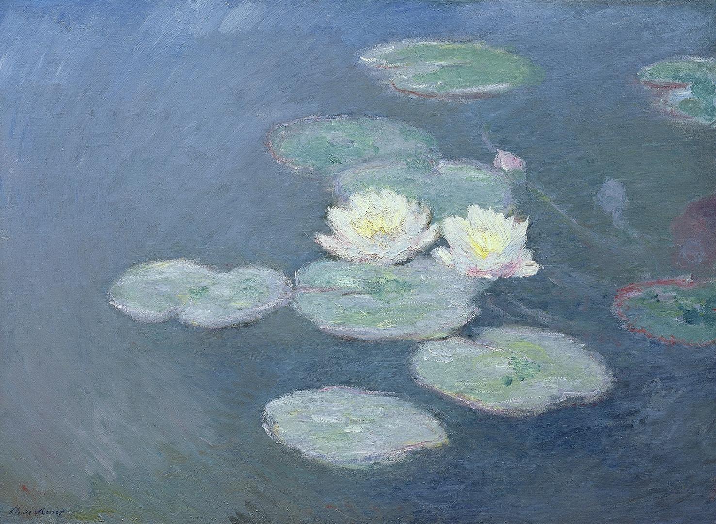 Waterlilies, evening effect (Nymphéas, effet du soir) image