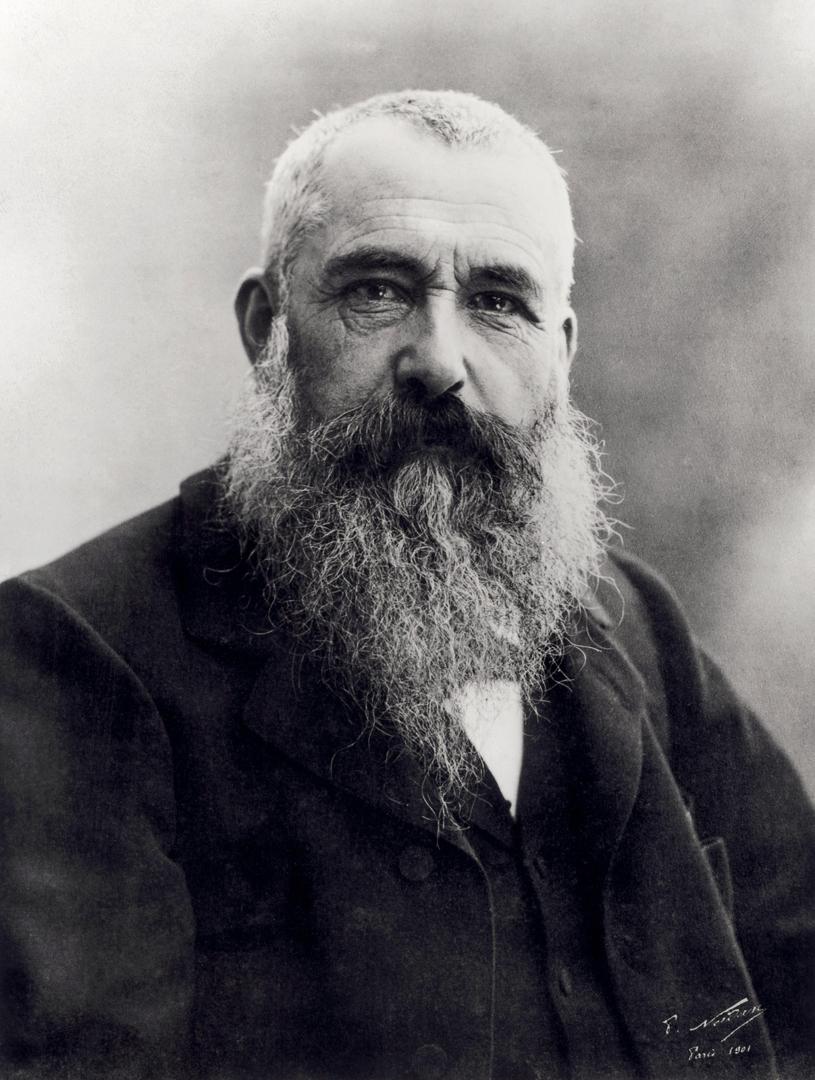 Portrait of Claude Monet (1840-1926) image