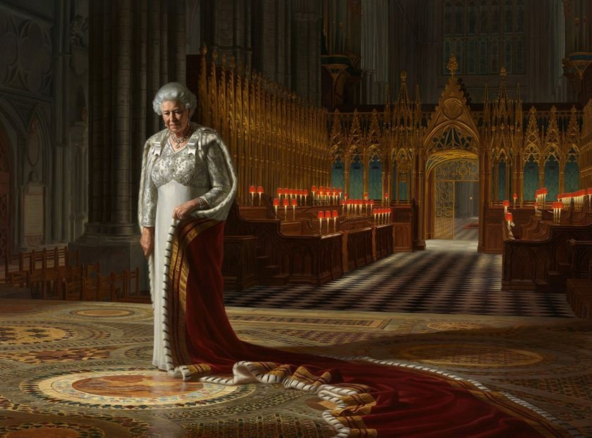 A Portrait of Her Majesty Queen Elizabeth II image
