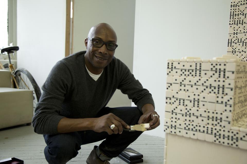 Duron Jackson in his studio image