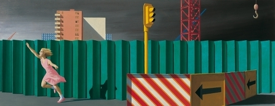 The construction fence  image