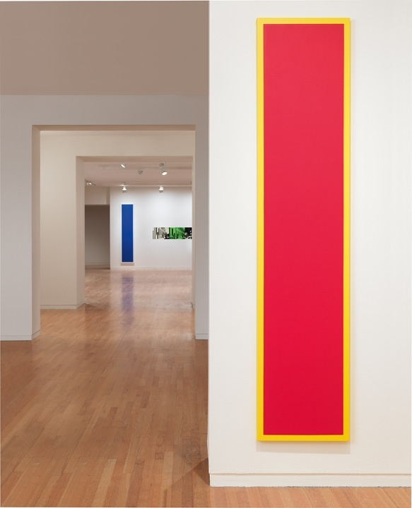 Untitled (Red Monochrome with Yellow), 1967/2009 image
