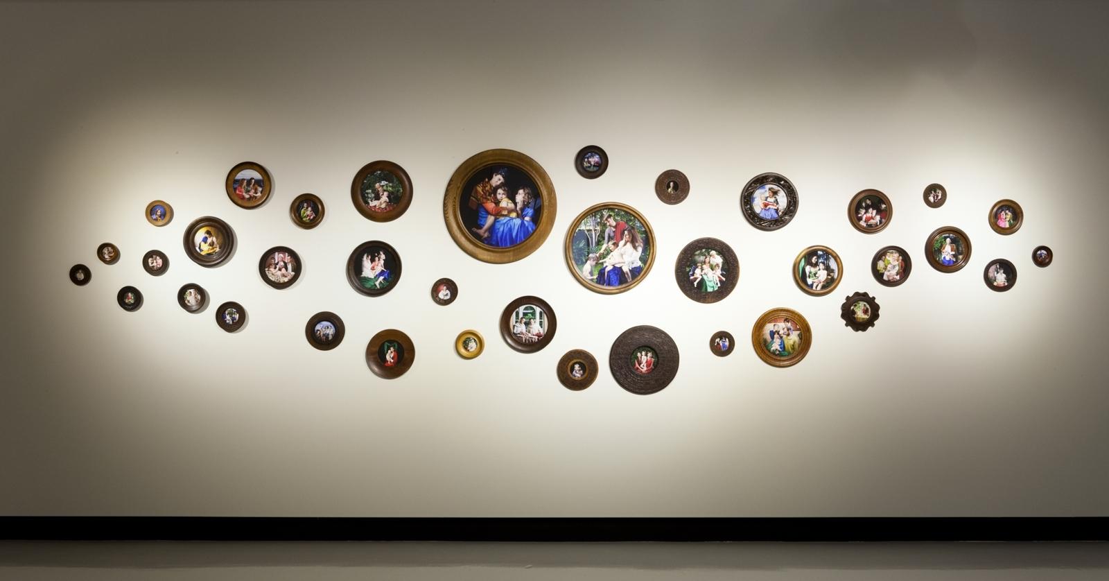 Deborah Kelly, The Miracles 2012. Installation shot at Counihan Gallery image