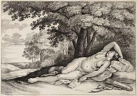 Sleeping Huntress image