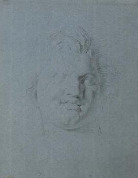Drawing from Sculpture: Head of Man image