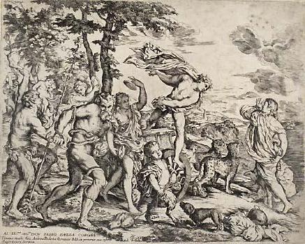 Bacchus and Ariadne image
