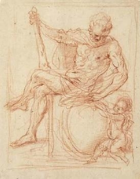Hercules and Putto image