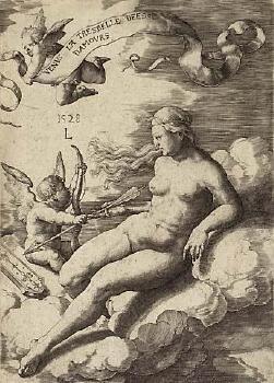 Venus and Cupid image