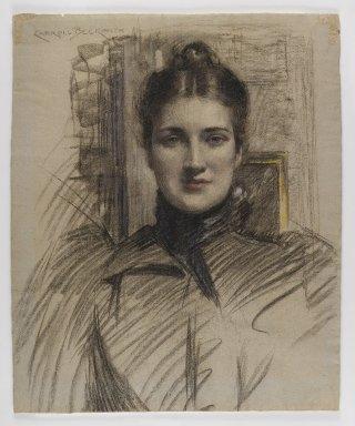 Portrait of Minnie Clark, circa 1890s image