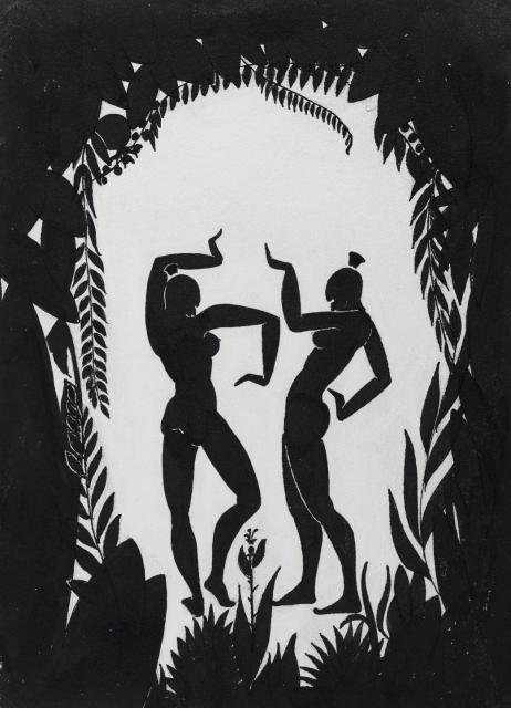 Dancing Figures, circa 1935 image