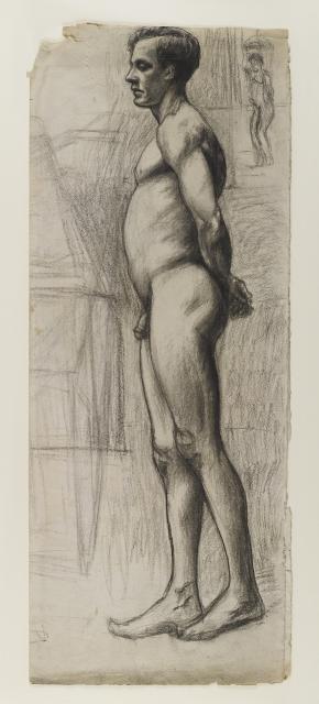 Male Nude, circa 1903–4 image
