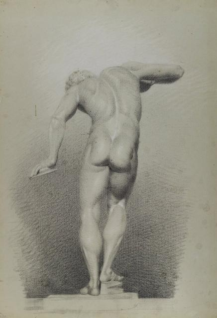 Nude Study, circa 1848 image