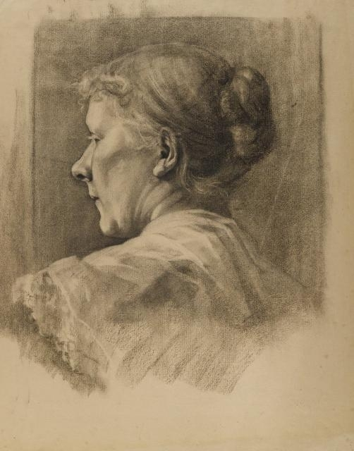 Woman in Profile, undated image
