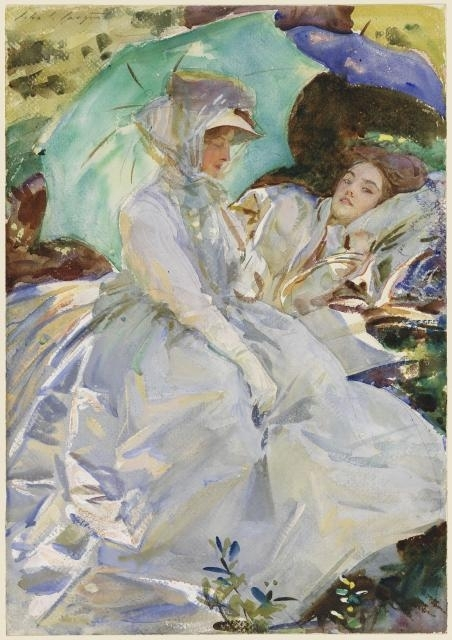 Simplon Pass: Reading, circa 1911 image