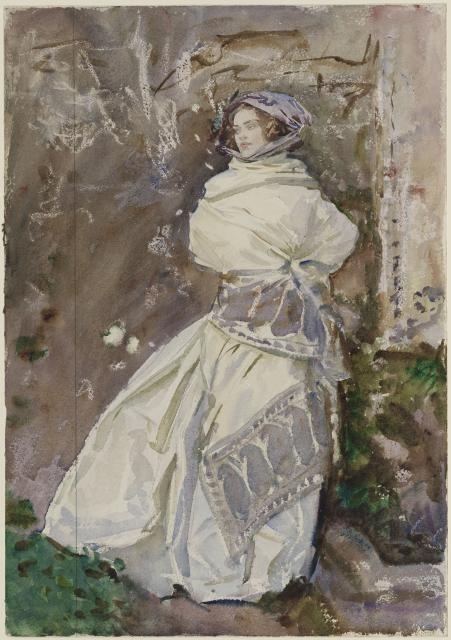 The Cashmere Shawl, circa 1911 image