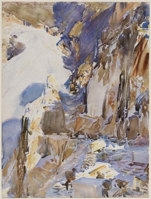 Carrara: A Quarry, 1911 image
