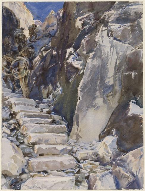 Carrara: Lizzatori I, 1911 image